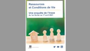 Enquête INSEE ressources et conditions de vie des ménages 2021