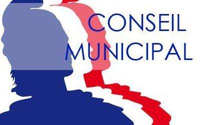 Conseil municipal 5 juin 2019