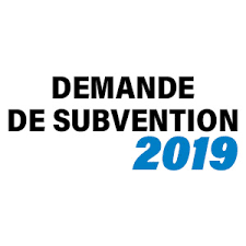 Associations : Demande de subventions 2019