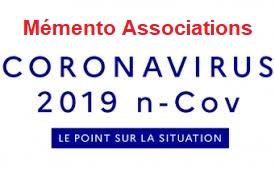Mémento pour les associations dans le cadre du COVID-19