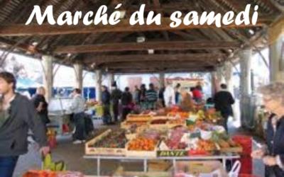 Marché du samedi : Réouverture du marché, conditions et règles