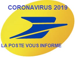 CORONAVIRUS COVID-19 : La Poste vous informe